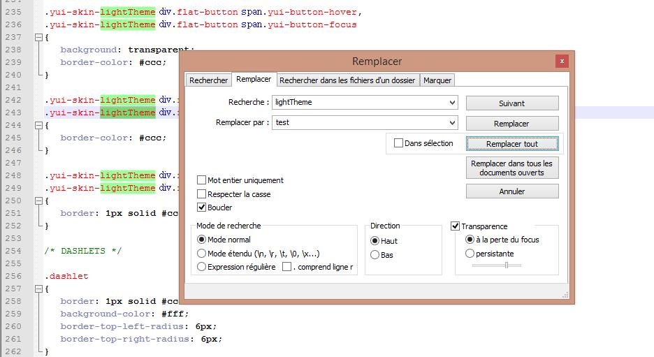 Alfresco Modifier Texte