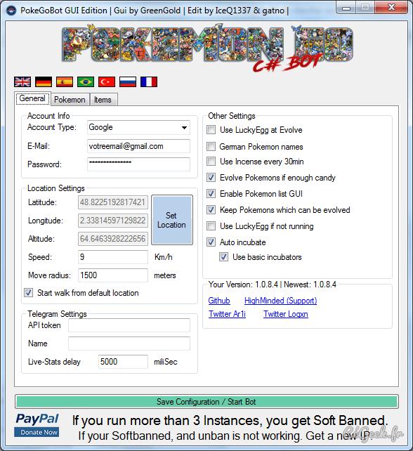 PokémonGo Bot 1