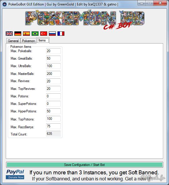 PokémonGo Bot 3